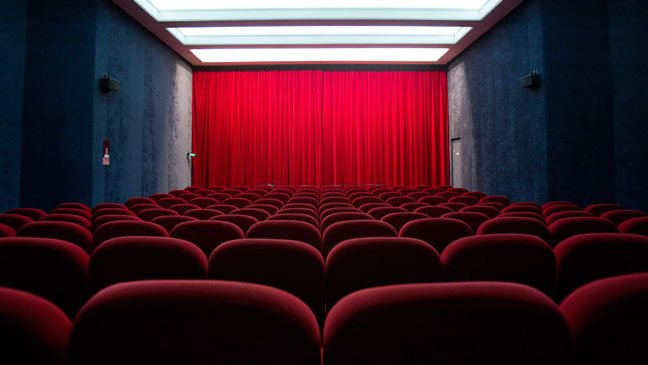 Movie Theater Interior - H 2012