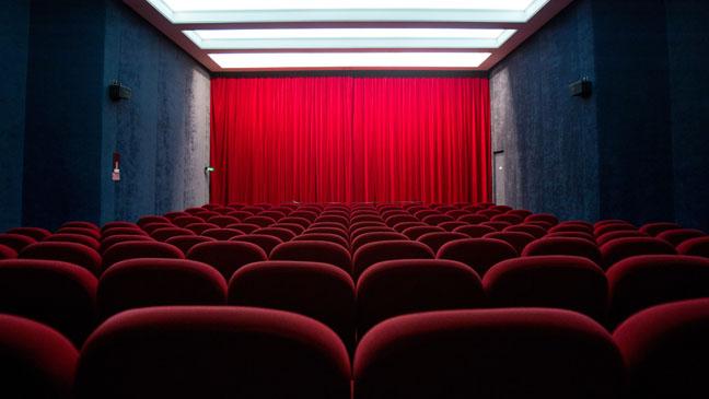 Movie Theater Interior - H 2012