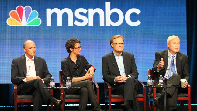 Phil Griffin Rachel Maddow Lawrence O' Donnell Chris Matthews - H 2012