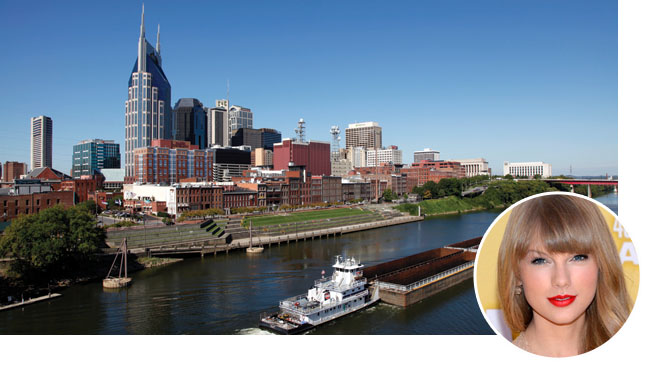 Nashville Skyline Taylor Swift - H 2012