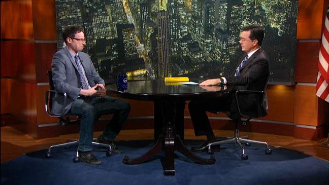 Colbert Report Nate Silver - H 2012