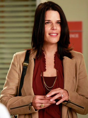 Grey's Anatomy Neve Campbell - P 2012