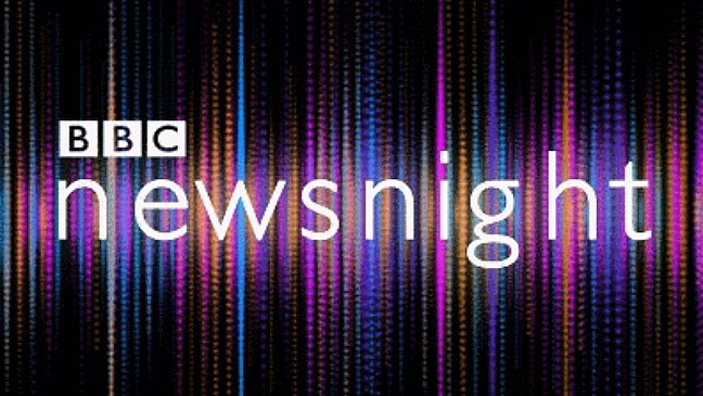 newsnight logo - H 2012