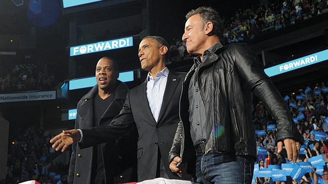 2012-41 REP Jay-Z President Obama Bruce Springsteen H