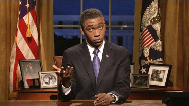 SNL Skit Obama Hurricane Sandy Screengrab - H 2012