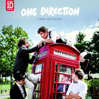 One Direction Take Me Home - S 2012
