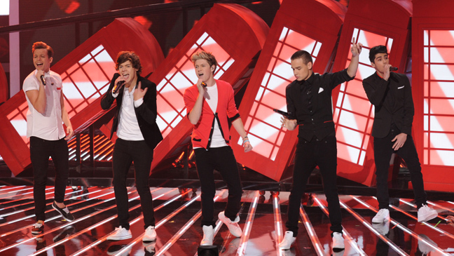 one direction x factor show 2 L