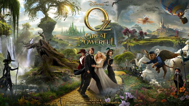 The Great and Powerful Oz Key Art - H 2012