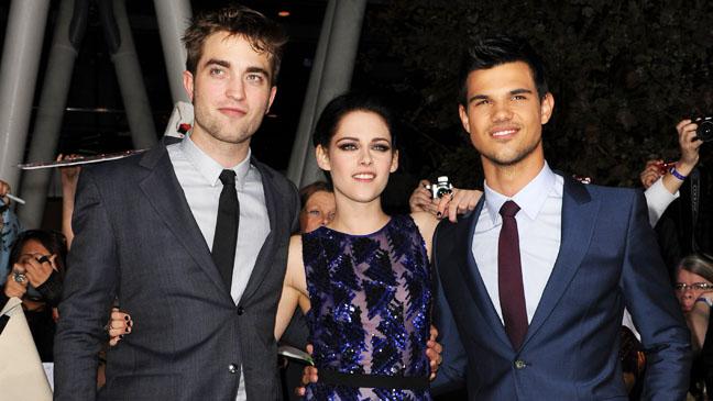 Pattinson Stewart Lautner Premiere 2011 - H 2012