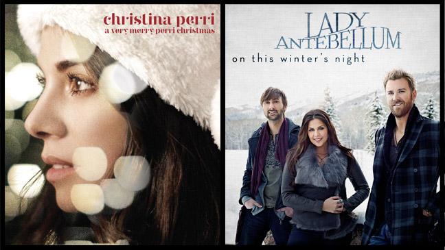 Christina Perri Lady Antebellum Christmas Album Split new - H 2012