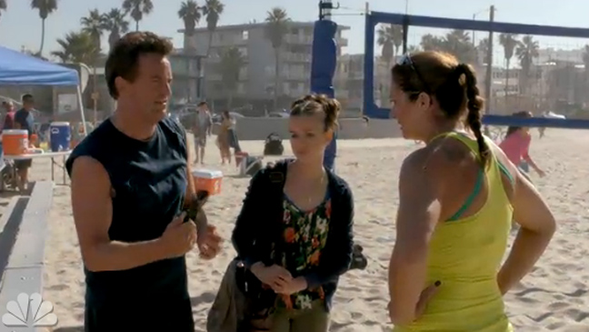 Go On - Matthew Perry & Misty May-Treanor Screen Grab - H 2012