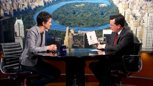 The Colbert Report Rachel Maddow - H 2012