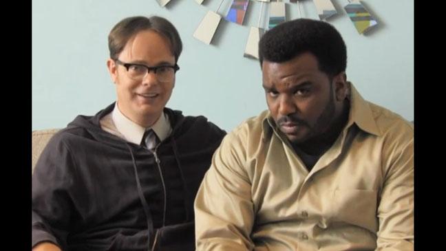 Rainn Wilson Angus Spoof Screengrab - H 2012