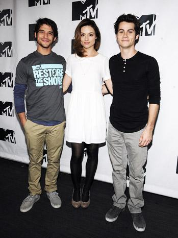 Restore The Shore Teen Wolf Cast - P 2012