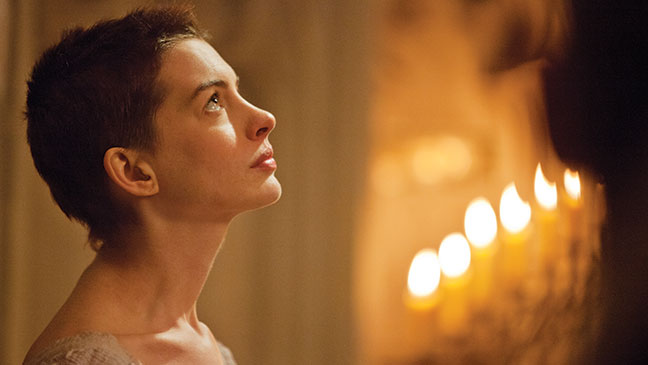 """Anne Hathaway in """"Les Miserables"""""""