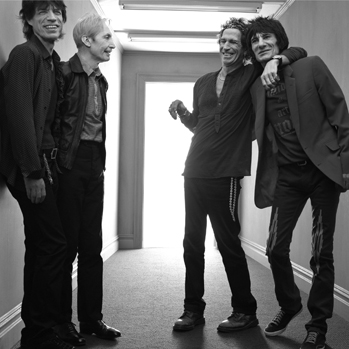 Rolling Stones PR black and white 2012 P