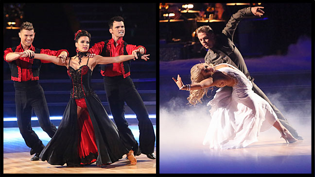 Rycroft Johnson DWTS Split - H 2012