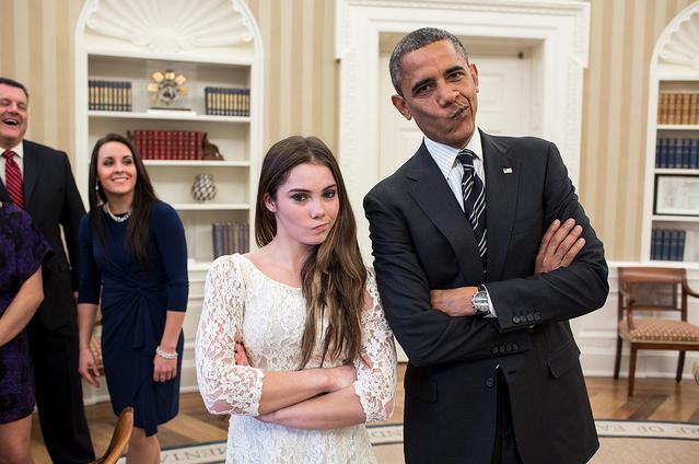 McKayla Maroney President Obama H 2012