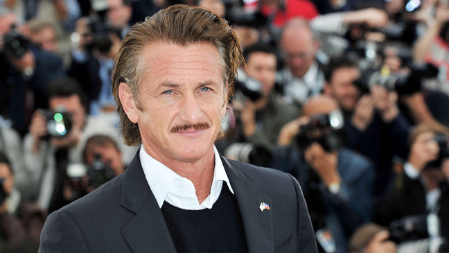 Sean Penn Cannes Film Festival - H 2012