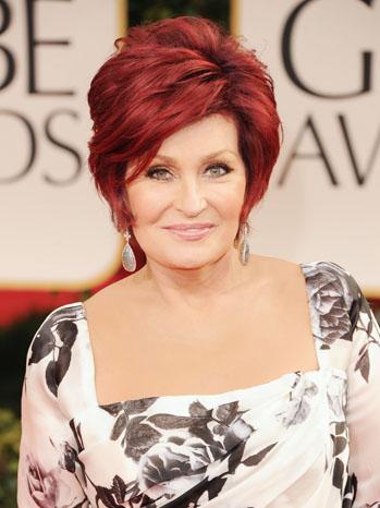 Sharon Osbourne Golden Globes - P 2012