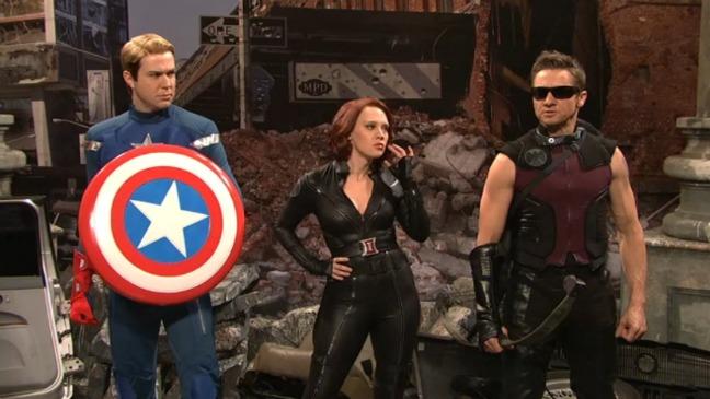 SNL Avengers Spoof - H 2012