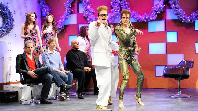 SNL Christmas Special Franco Wiig - H 2012