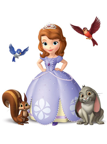 Sofia The First Characters - P 2012