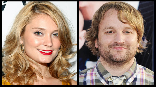 Spencer Grammer and Lenny Jacobson Split - H 2012