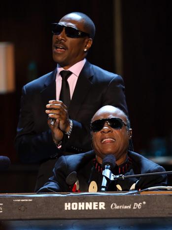Eddie Murphy Stevie Wonder - P 2012
