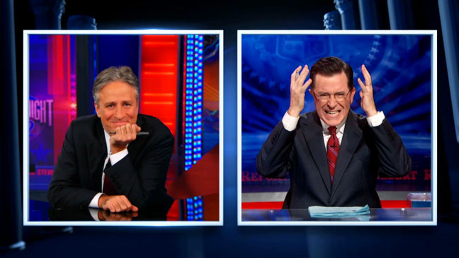 Colbert Report Daily Show Election Night - H 2012