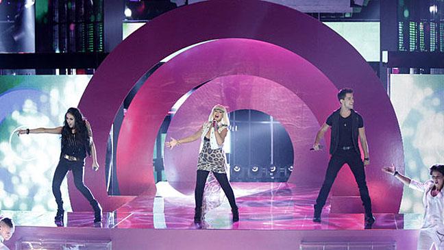 The Voice Christina Aguilera November 20th - H 2012