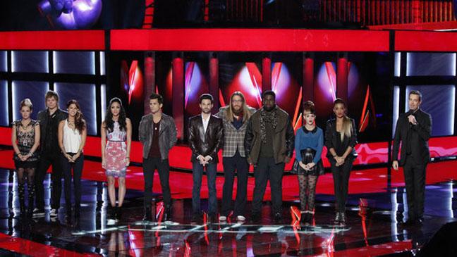The Voice Live Show November 13 - H 2012