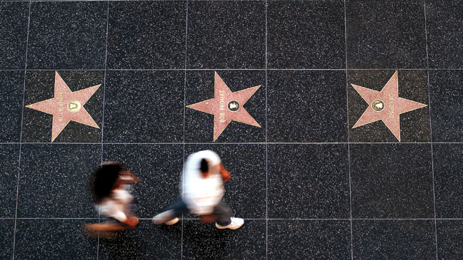 Walk of Fame Top View - H 2012