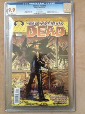 Walking Dead Comic 1 eBay - 2012 H