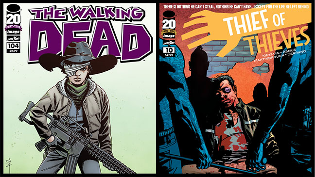 The Walking Dead Thief of Thieves Comic Covers - H 2012