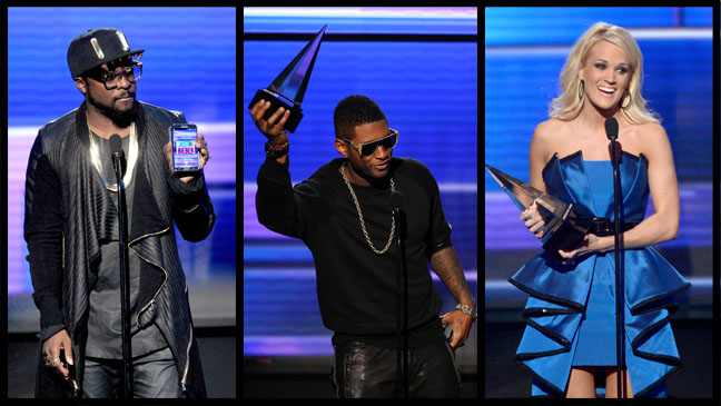 Will.i.am Usher Carrie Underwood - H 2012