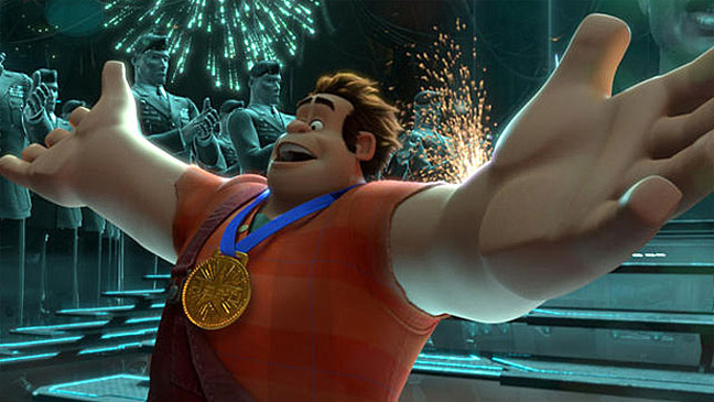 Wreck It Ralph Film Still Gold Medal - H 2012