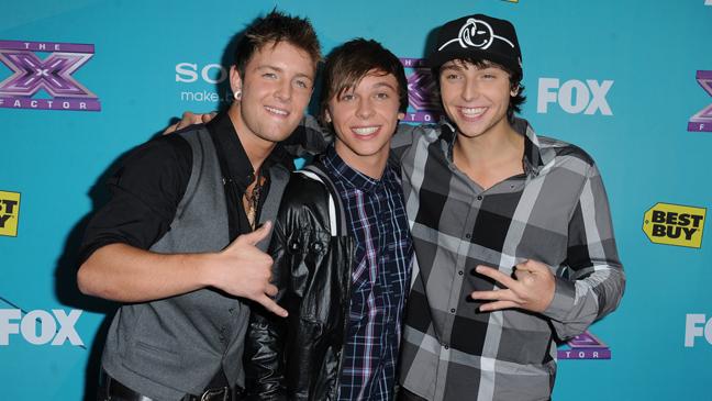 X Factor Emblem3 finalists party L