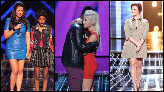 X Factor Week 1 split L