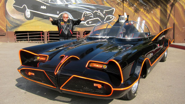 'Batman's' Batmobile