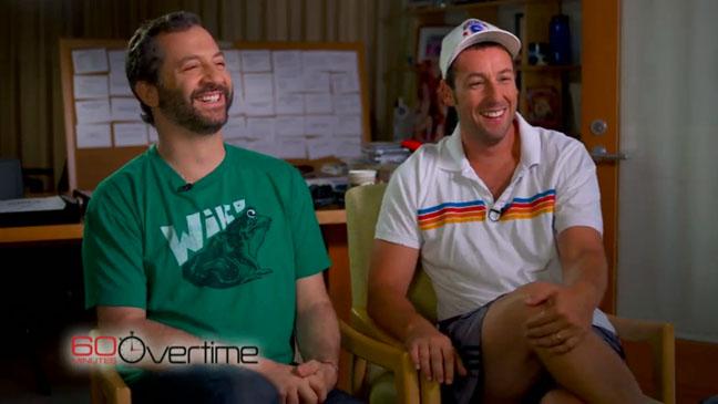 Judd Apatow Adam Sandler 60 Minutes - H 2012