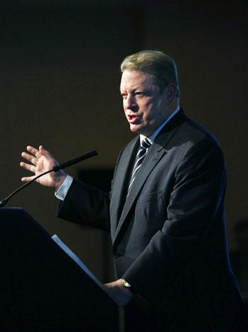 Al Gore Podium - P 2012