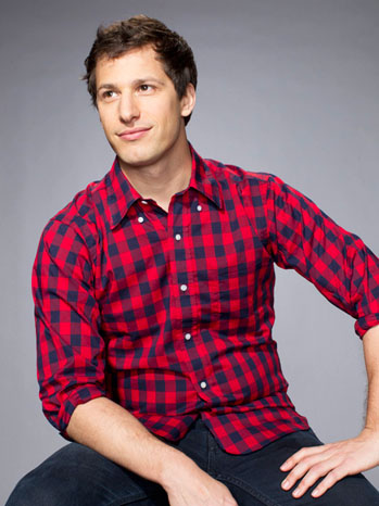 Andy Samberg Headshot - P 2012