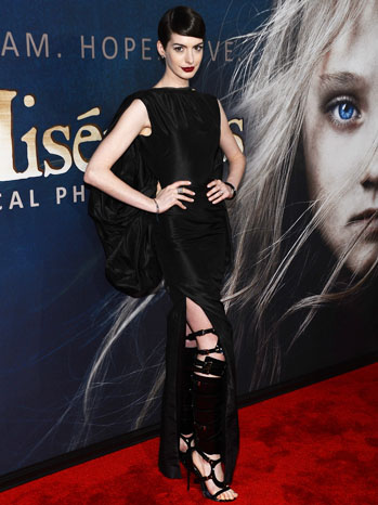 Anne Hathaway Les Miserables NY Premiere - P 2012