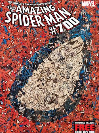 Amazing Spider-Man Cover Comic - P 2012
