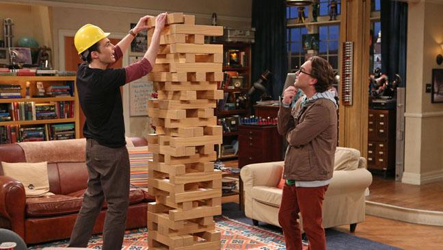 The Big Bang Theory Parsons Galecki Jenga Set - H 2012