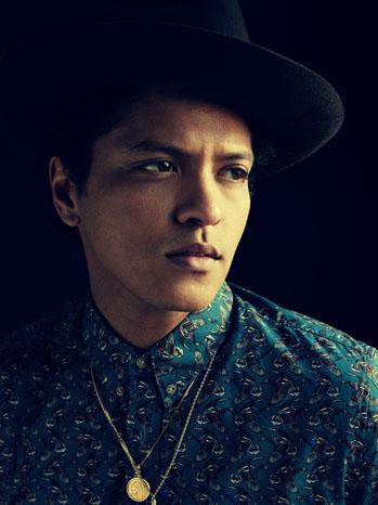 Bruno Mars PR Portrait One - P 2012