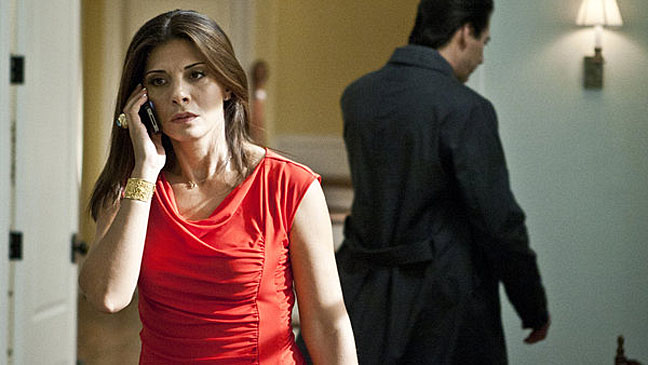 Callie Thorne Necessary Roughness - H 2012
