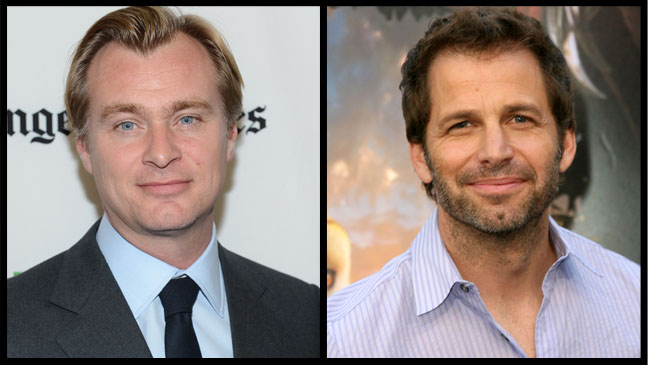 Christopher Nolan Zack Snyder - H 2012