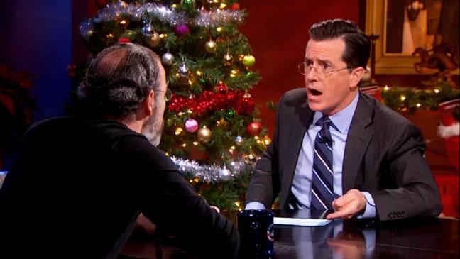 The Colbert Report Mandy Patinkin - H 2012
